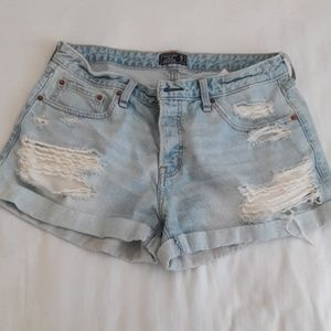 Abercrombie and Fitch Jean Shorts size 10